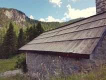 Chapel 2 in the Alps, France royalty free stock photos