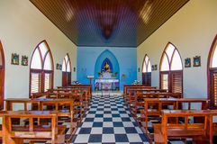 Chapel Alto Vista, attraction of Aruba,  ABC Royalty Free Stock Images