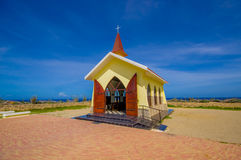 Chapel Alto Vista, attraction of Aruba,  ABC Royalty Free Stock Image
