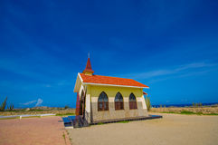 Chapel Alto Vista, attraction of Aruba,  ABC Royalty Free Stock Photo
