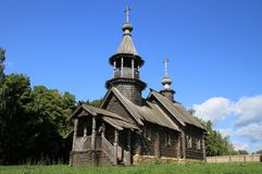 Chapel of the Archangel Michael. Reserve Museum Pushkin Boldino Royalty Free Stock Images