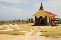 Chapel on Aruba Stock Photography