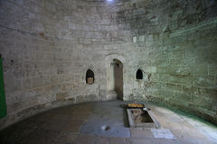 Chapel of the Ascension of Christ, Jerusalem Royalty Free Stock Image