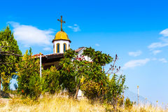 Chapel of the Ascension near Gotse Delchev Royalty Free Stock Photography