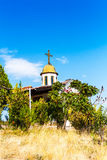 Chapel of the Ascension near Gotse Delchev Stock Photography
