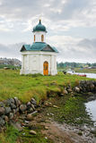 Chapel ashore Royalty Free Stock Photos