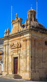 Chapel of the Assumption. In St Nicholas square in Siggiewi, Malta Royalty Free Stock Photo