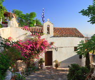 Chapel in Athens. Small old chapel in Athens, Greece Royalty Free Stock Photos