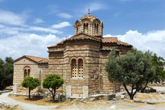 Chapel in Athens Royalty Free Stock Photo