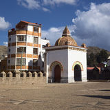 Chapel of the Basilica in Copacabana, Bolivia Royalty Free Stock Photo