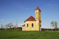 Chapel in Bavaria Royalty Free Stock Photos