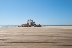Chapel on the beach Royalty Free Stock Image
