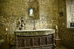 Chapel at Beautiful Country House near Leeds West Yorkshire that is not National Trust Stock Photos