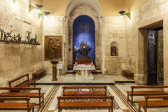 Chapel of the Blessed Sacrament. Royalty Free Stock Photo