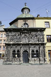Chapel of the Boim family in Lvov Stock Photos