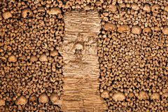Chapel of Bones. The Chapel of Bones (Capela dos Ossos) is one of the best known monuments in Evora, Portugal Stock Image