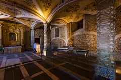 Chapel of the Bones - Evora Portugal Stock Image