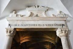 Chapel of Bones, Evora, Portugal Stock Images