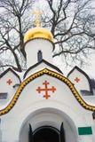 Chapel in Boris and Gleb monastery in Dmitrov city, Moscow region, Russia Stock Photo