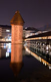 Chapel Bridge Lucerne, Switzerland Stock Image