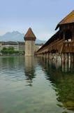 Chapel Bridge, Luzern, Switzerland Stock Images
