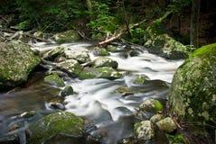 Chapel Brook Falls, MA, USA Royalty Free Stock Photography