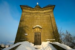 Chapel in Broumov Walls Royalty Free Stock Photography