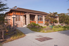 Chapel building at Asilomar State park Stock Images