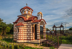 Chapel in the Byzantine style Stock Photography