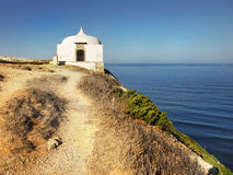 Chapel, Cape Espichel, Portugal Royalty Free Stock Image