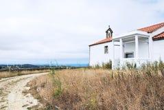 Chapel on Cape Vilan, Costa da Morte, Galicia Stock Photography