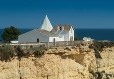 Chapel Capela Nossa Senhora da Rocha in Portugal Stock Photography
