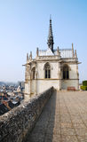 Chapel of castle in Amboise, France Royalty Free Stock Photography