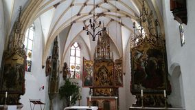 CHAPEL AT CASTLE BLUTENBURG IN GERMANY Royalty Free Stock Image