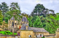 Chapel at the Castle of Usse in the Loire Valley, France Royalty Free Stock Photos