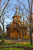 Chapel in Cathedral of Christ the Savior - Moscow Russia Royalty Free Stock Images