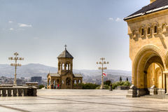 Chapel by the Cathedral of Tbilisi Royalty Free Stock Photo