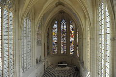 Chateau de Vincennes, the Chapel Stock Photography
