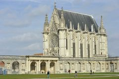 Chateau de Vincennes, Chapel Royalty Free Stock Image