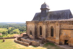Chapel chateau de biron, dordogne france Stock Images