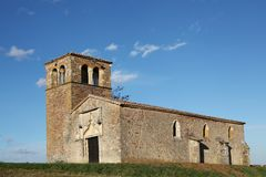 Chapel of Chevennes in Beaujolais Royalty Free Stock Image