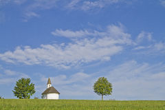 Chapel in Chiemgau Stock Image