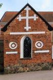 The chapel of the church of Holy Trinity, Uppsala, Sweden Stock Photo