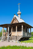 The chapel. In the Church of the Holy virgin in the Vsevolozhsk district Royalty Free Stock Photos