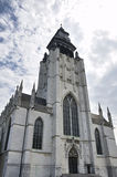 Chapel Church (Notre-Dame de la Chapelle), Brussels, Belgium. Stock Photos