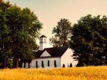 Chapel, Clear, Sky Royalty Free Stock Images