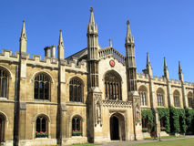 Chapel Of Corpus Christi Cambridge University Stock Photography