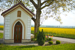 Chapel. In the countryside religion stock photos