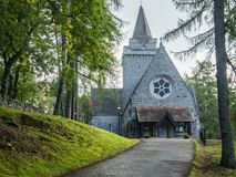 Chapel  Crathie, Balmoral,  Highlands, Scotland Stock Photography