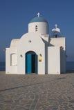 Chapel in Cyprus. Saint Nicholas chapel in Paralimni, Cyprus Royalty Free Stock Image